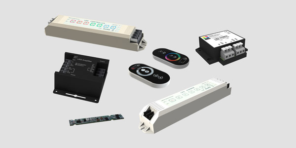 LED kontrolerji in dimerji