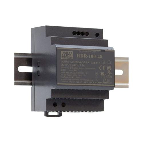 LED napajalnik Meanwell HDR-100
