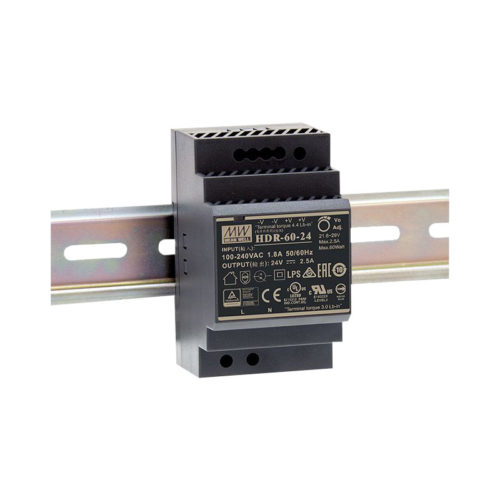 LED napajalnik Meanwell HDR-60