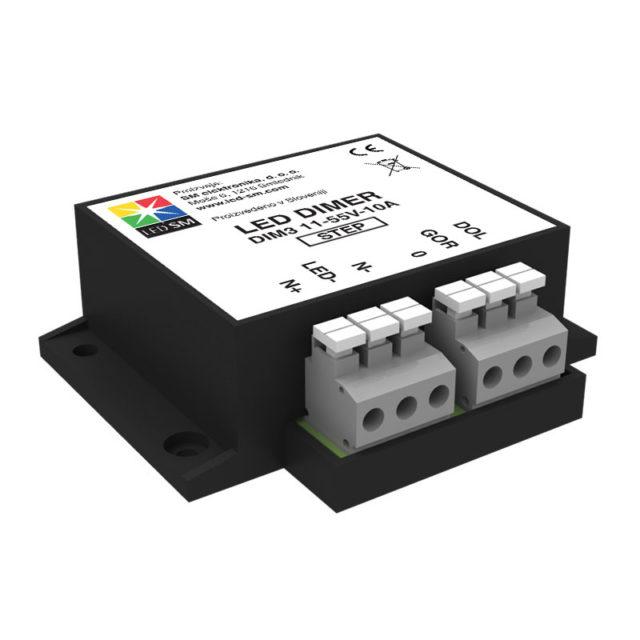 LED dimer DIM3-STEP (NC+NO)