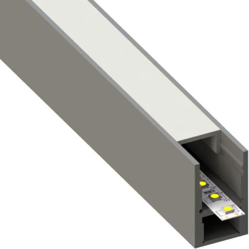 ALU profil BAR6, 18,5 × 30 mm