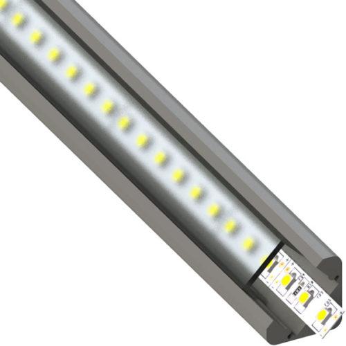 ALU profil BAR7, 23,7 × 16,7 mm